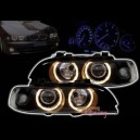 2 FEUX AVANT ANGEL EYES BMW SERIE 5 E39 PHASE 1